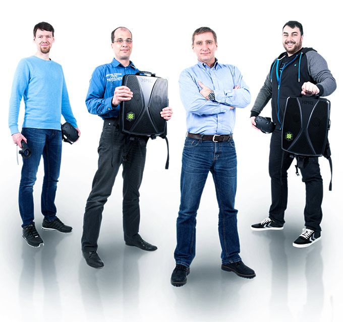 benntec VR-Experten: Matthias, Sebastian, Roland
